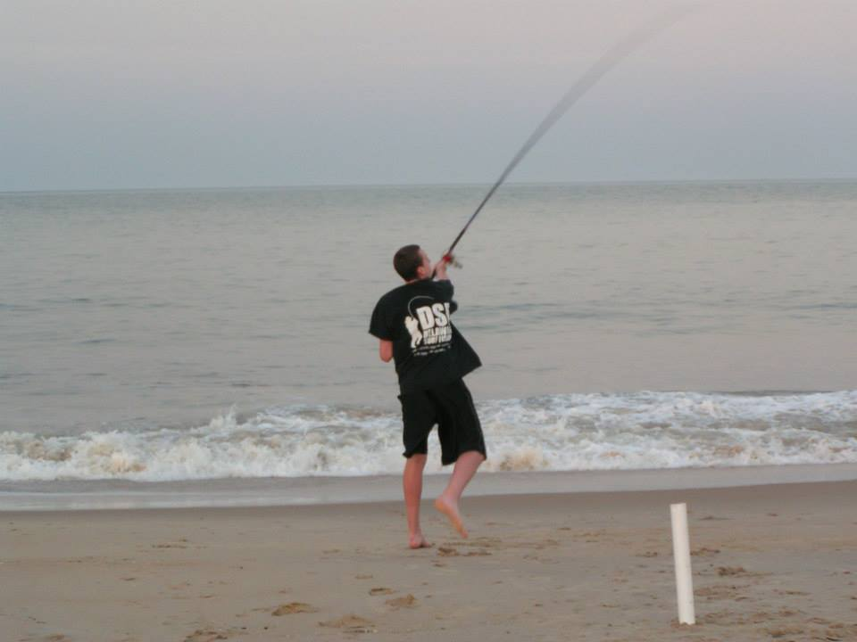 bait casting, herring point beach, cape henlopen state park, dsf, delaware surf fishing,