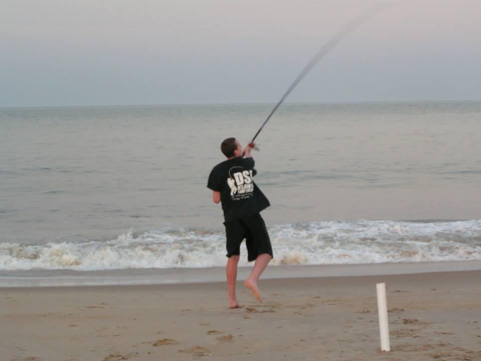 bait casting, herring point beach, cape henlopen state park, dsf, delaware surf fishing,