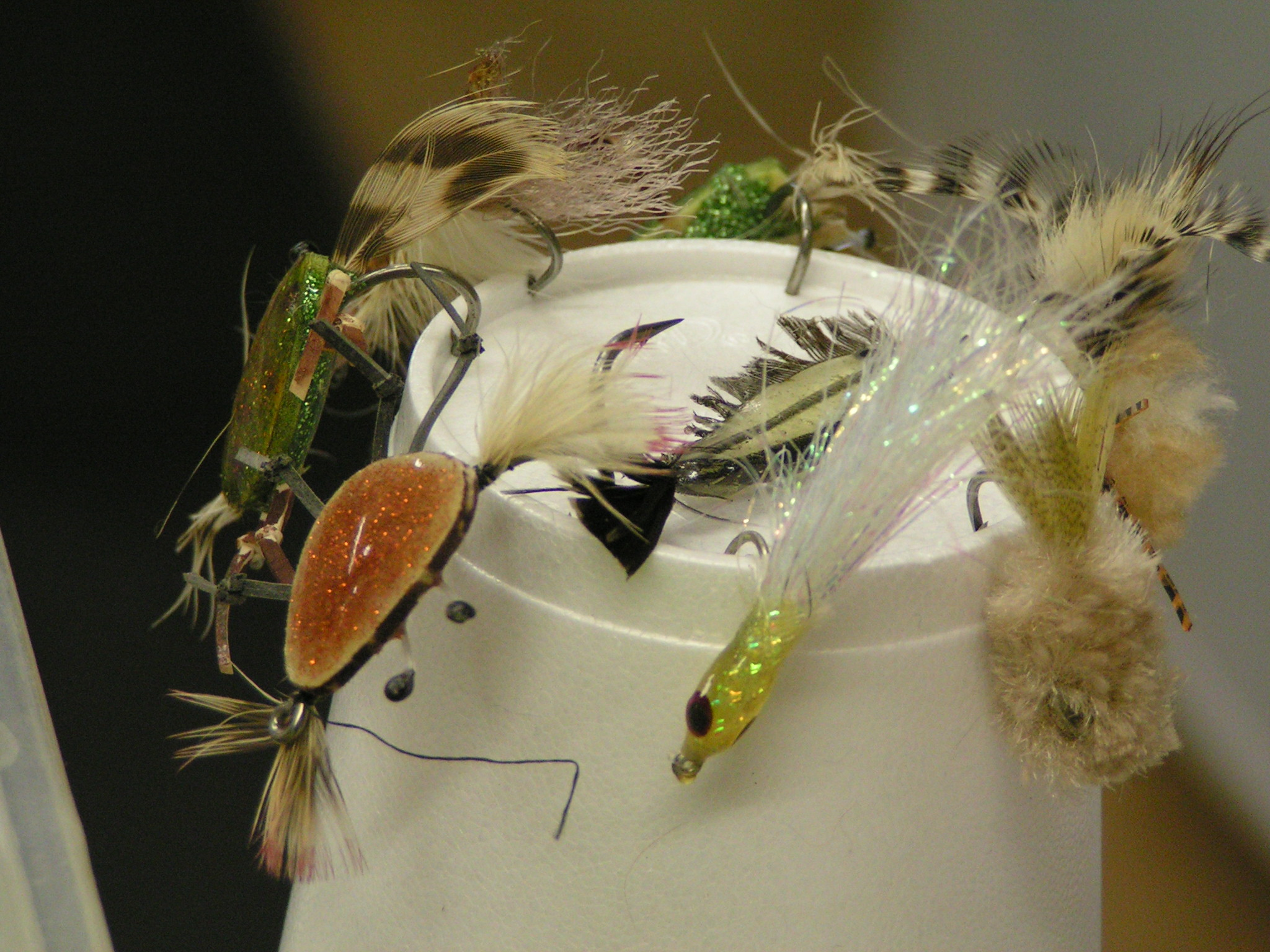 Crab flies, fly tying, delaware fly fishing, saltwater fly anglers of delaware