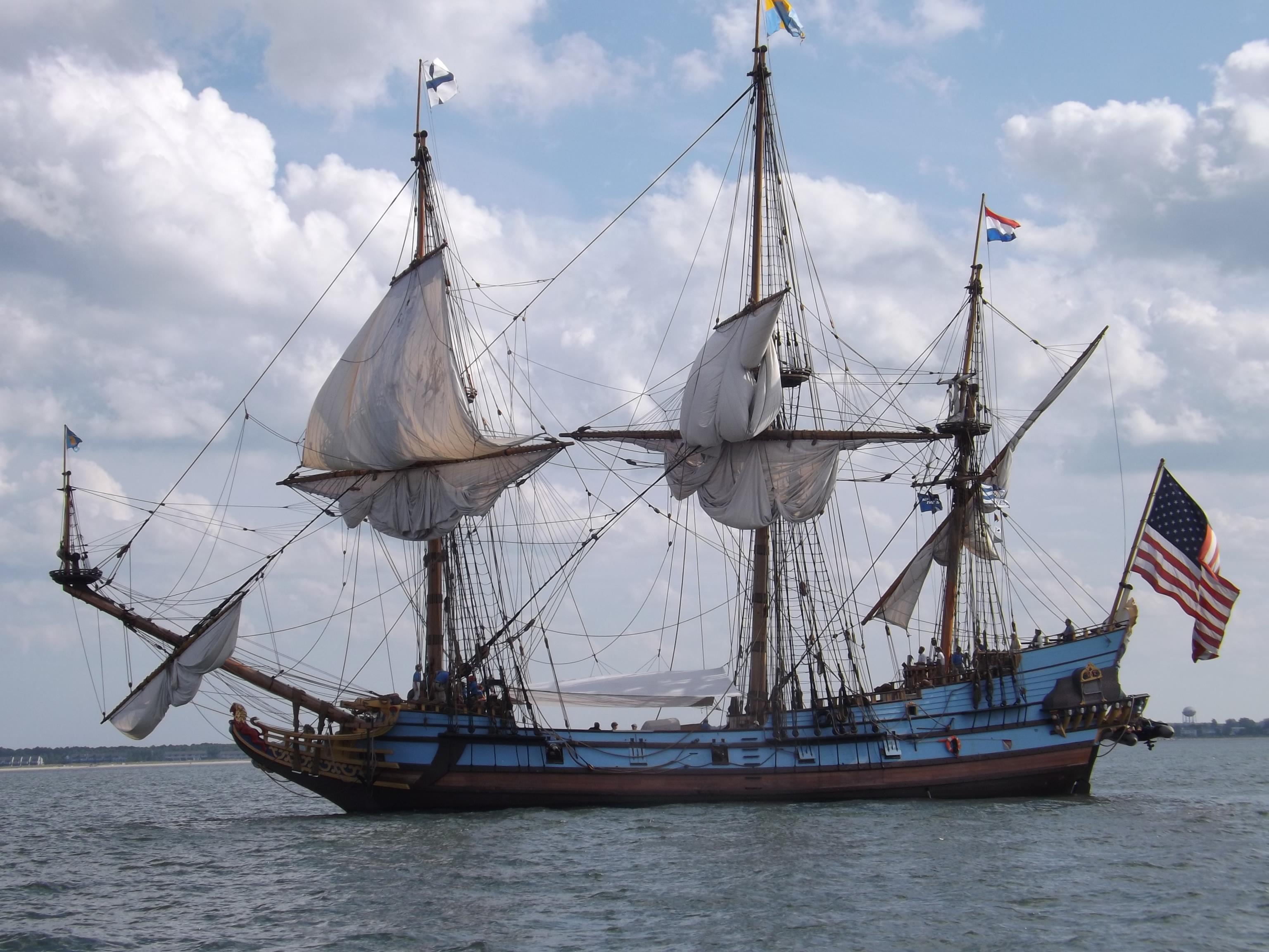 kalmar nykel, tall ships, delawares tall ship, de bay, sailing ships, 2 masted schooner,