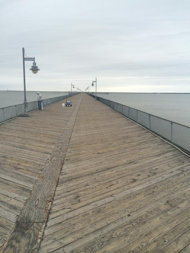 cape henlopen fishing pier closed for decking replacement