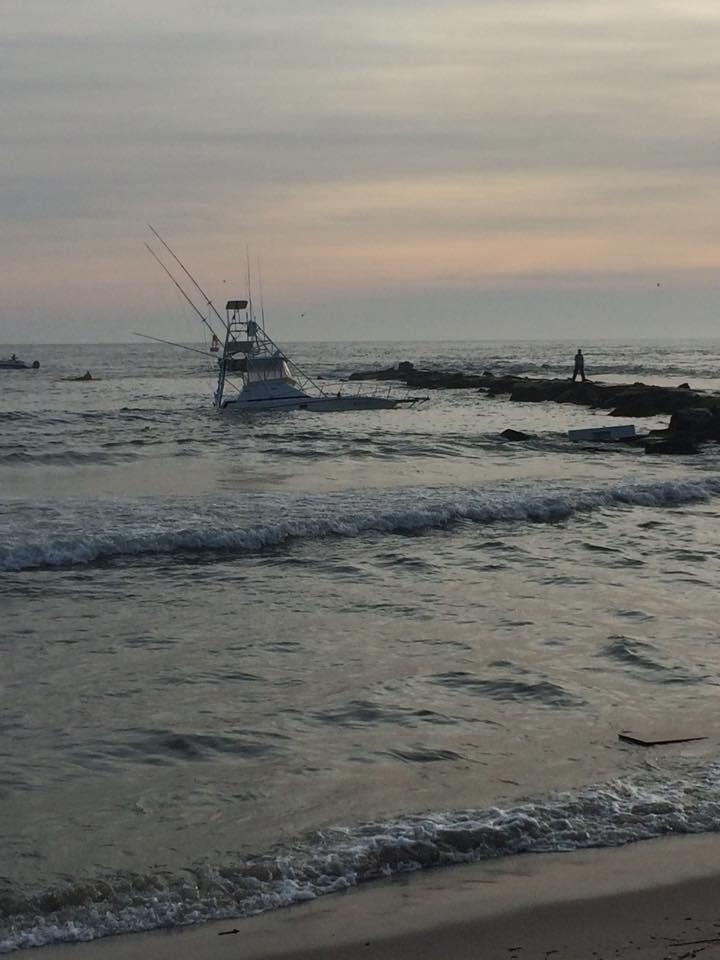 Boat accident at indian river inlet update delaware surf for Delaware surf fishing
