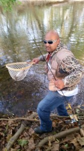 trout fishing, stocked trout, delaware, white clay creek, newton pond