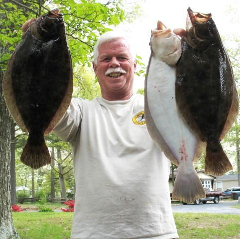 flounder, Bob Jones, Fishing with Bob Jones, Delaware surf fishing writers