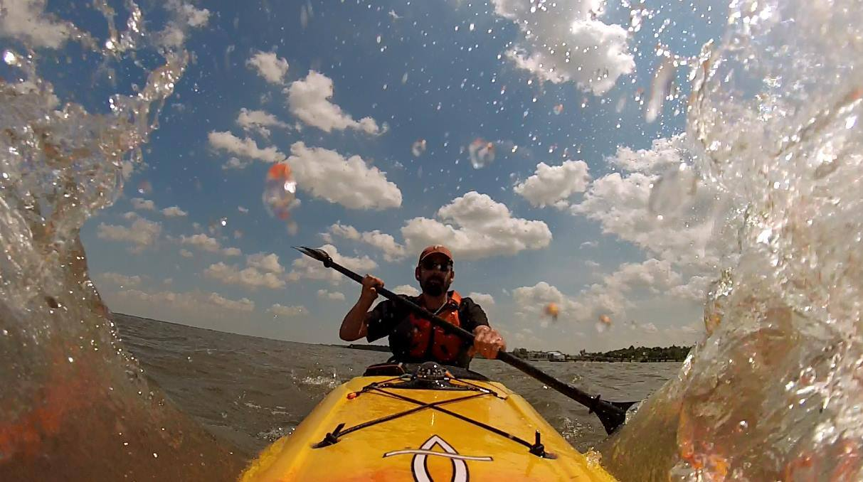 Delaware kayaking, sussex county, delaware bay, inland bays, white clay creek, st jonesriver, ocean kayaking