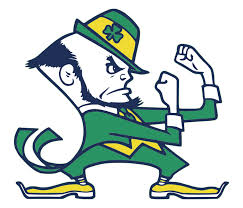 The fightin' Irish, notre dame