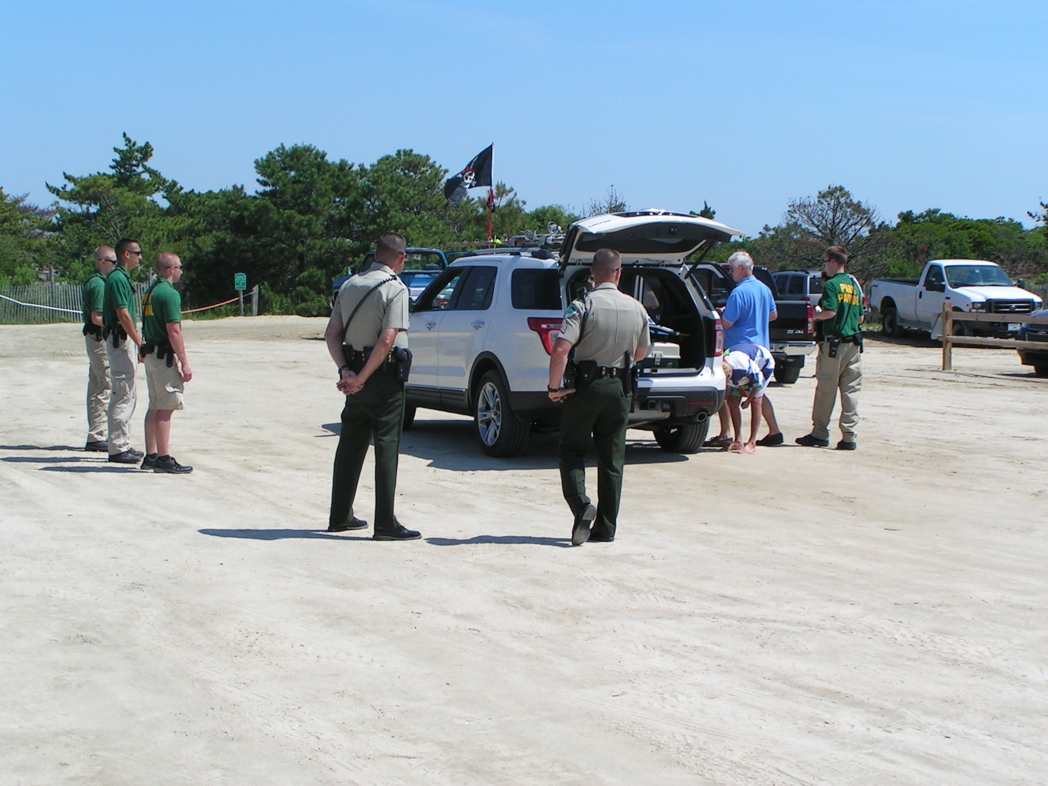 Help the parks with beach access issues volunteer for Island beach state park fishing