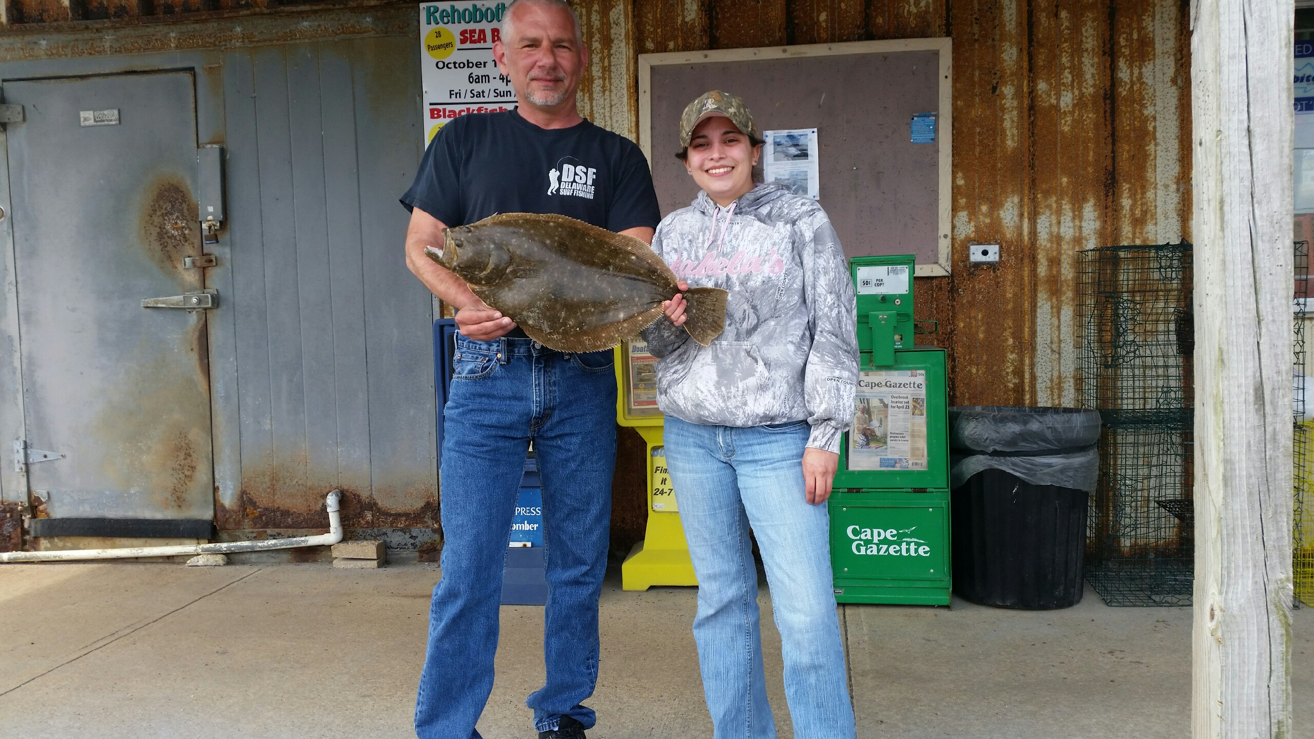 summer flounder, iri, indian riverinlet, sussex county, delaware, old inlet bait and tackle