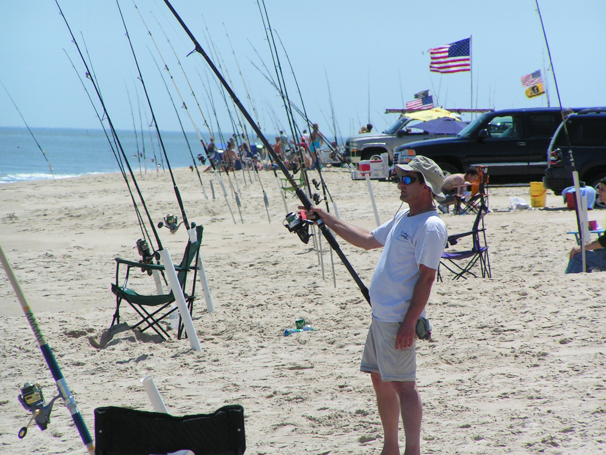Spring Surf Fishing tournament, old inlet, 3rs beach, conquest, key box, tower, fenwidk island, Delaware seashore state park, sussex county, fiathful steward, savages ditch