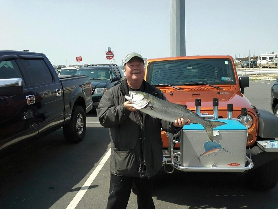 indian river inlet, bluefish, bucktails, the rail, delawae, sussex county