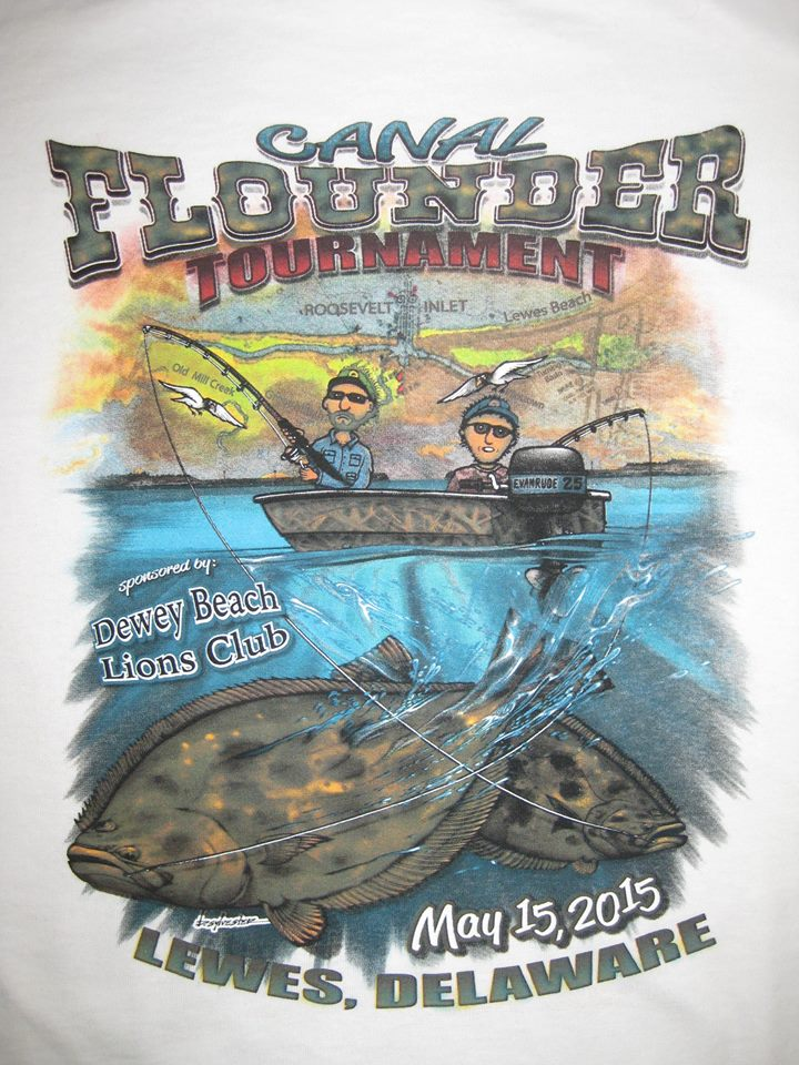 canal flounder tournament, dewey beach lions club, lewes harbour marina, delaware, sussex county,