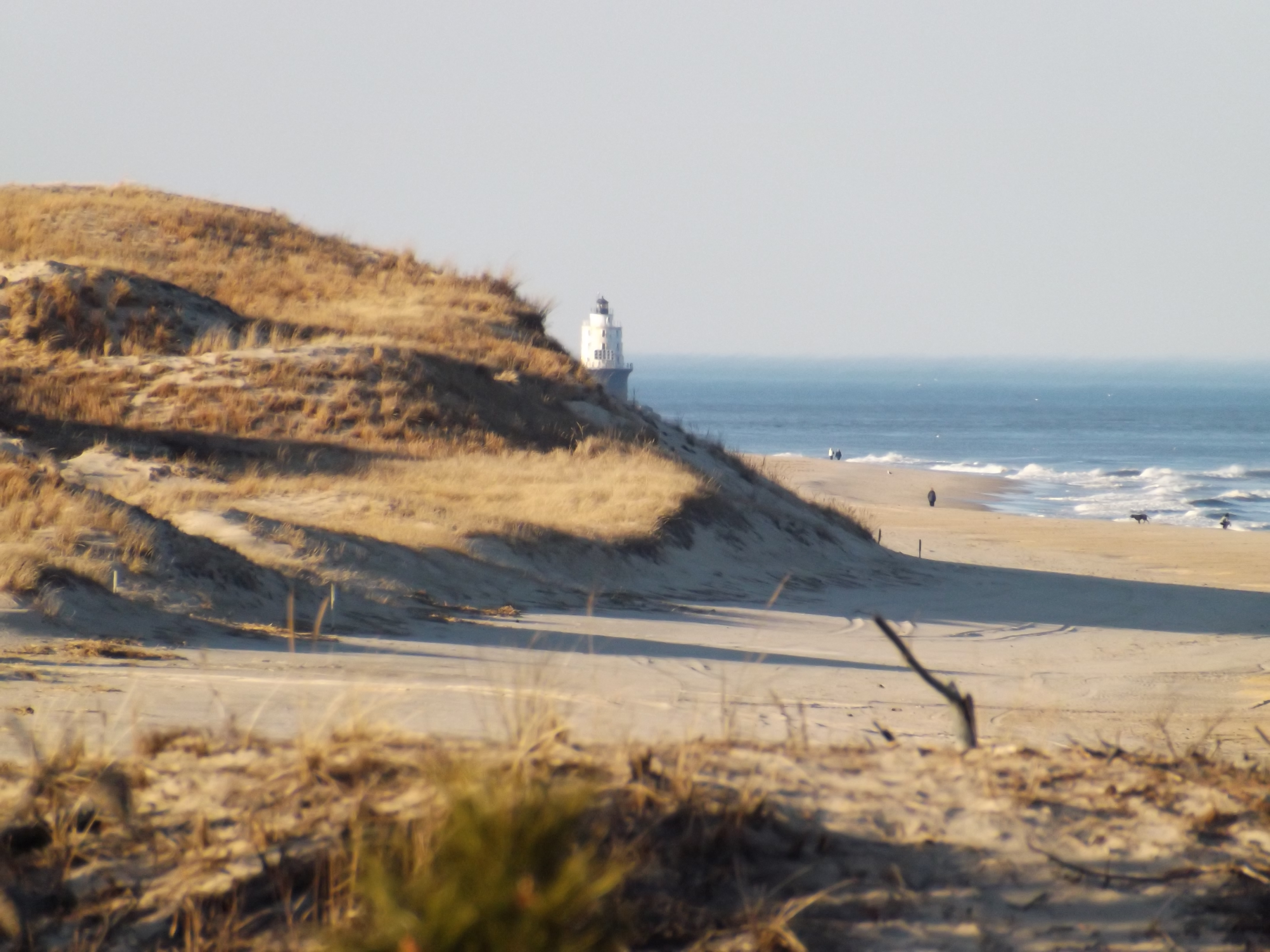 Cape Henlopen, great dune, delaware, sussex county, lewes, delaware state parks, harbor of safe refuge, delaware breakwater lighthouse