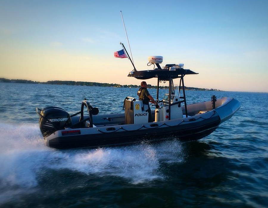 DNREC, fish and wildlife boat, delaware, sussex county, dewey beach
