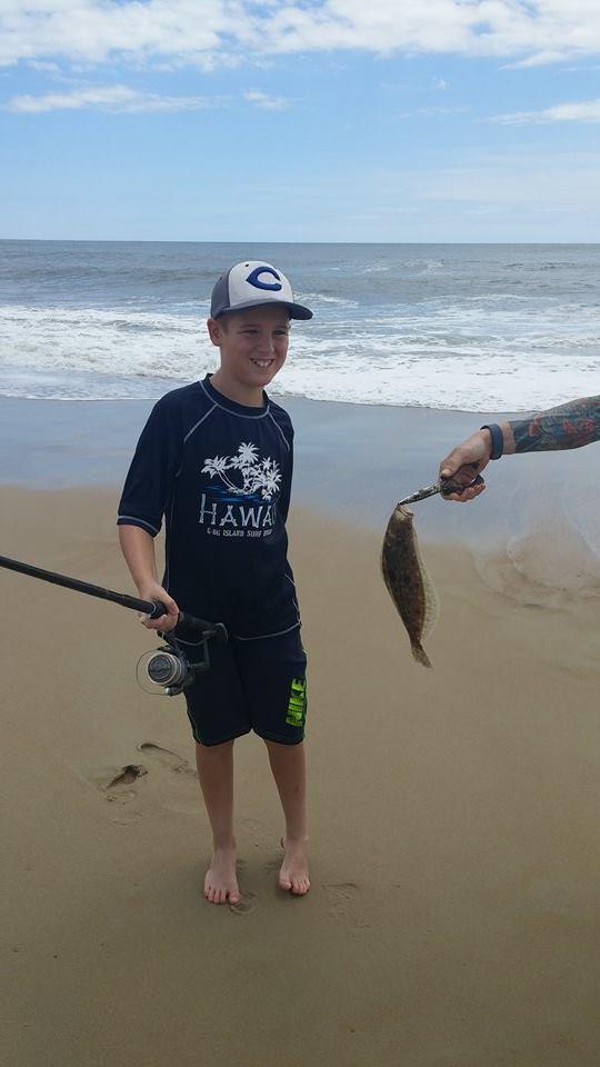 Fishing report peanut bunker are here delaware surf for Cape henlopen fishing report