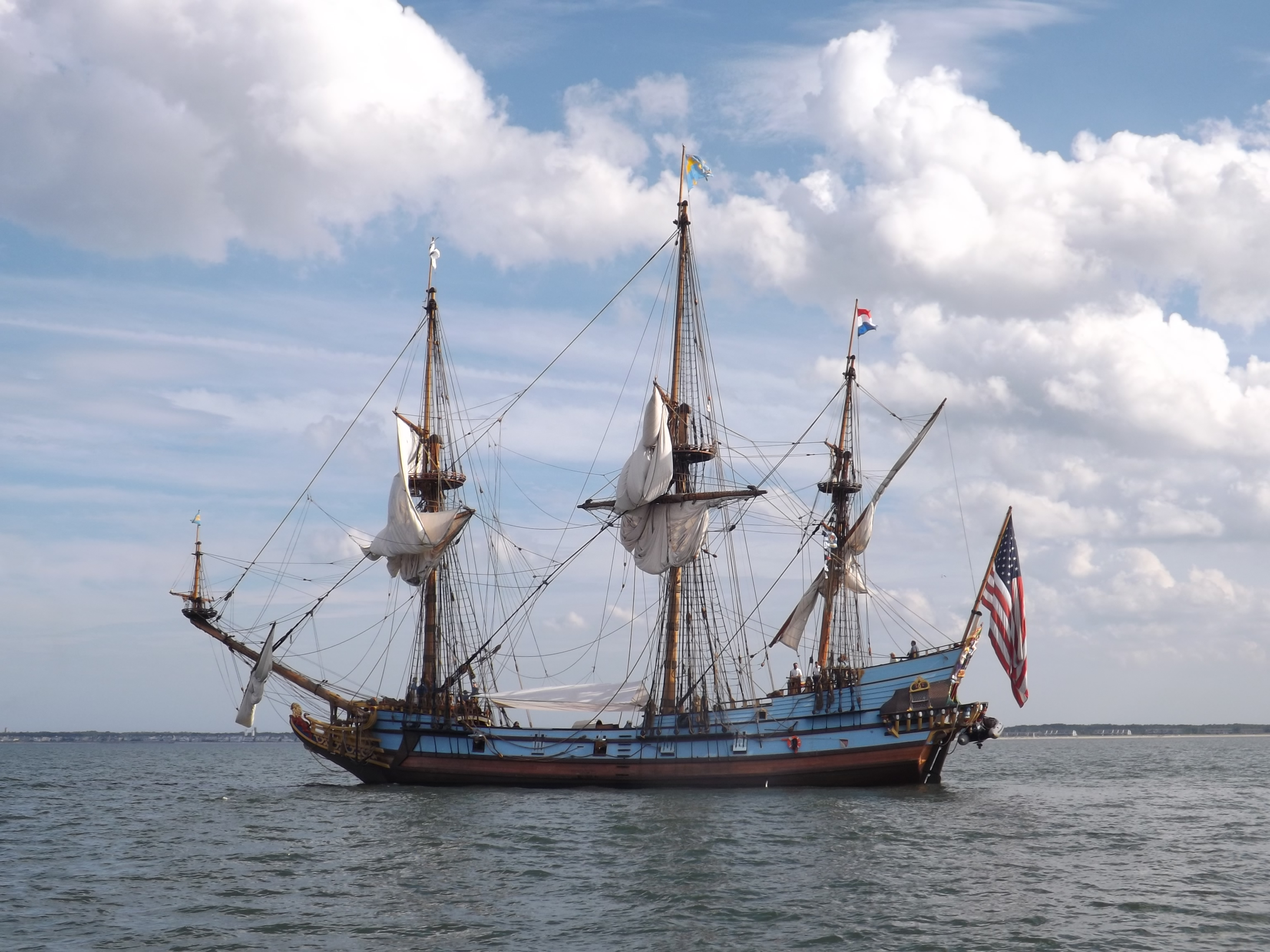 delaware tall ship, kalmar nyckel, sussex county, harbor of safe refuge, cape may lewes ferry,