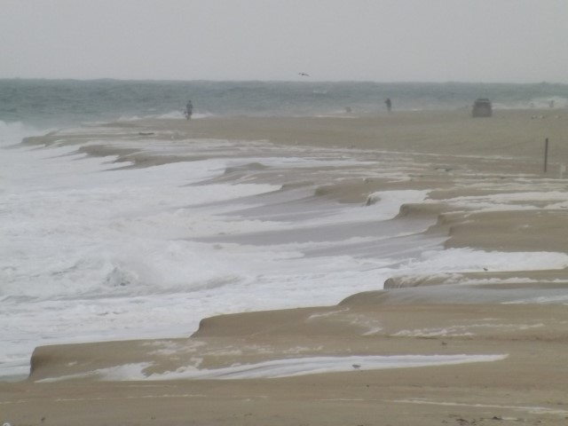 delaware beaches take a pummeling, 3rs beach, delaware seashore state park