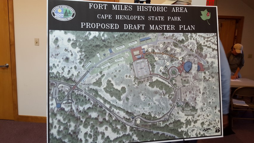 fort miles, cape henlopne state park, delaware, sussex county, proposed draft master plan,
