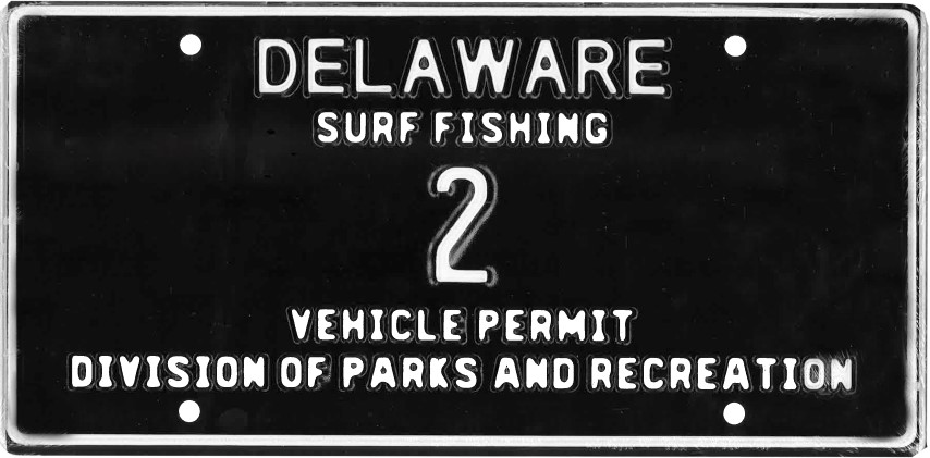 delaware surf fishing low digit tags, state parks, delaware, sussex county, boo bbq,