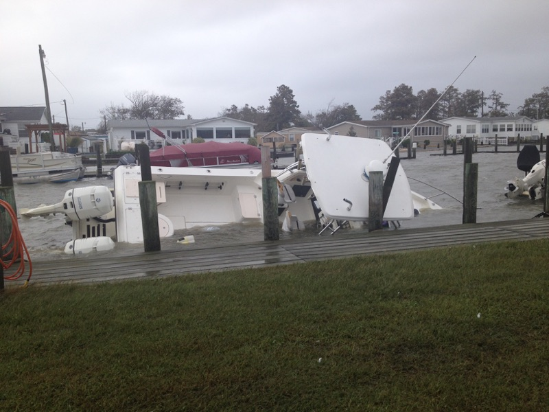 Bay City, dleaware, sussex county, indian river bay, noreaster