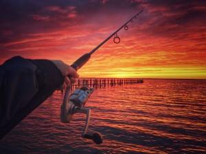 dewey beach, idewey, sunsets in delaware, rehoboth bay, delaware, sussex county, striped bass, rockfish, linesiders