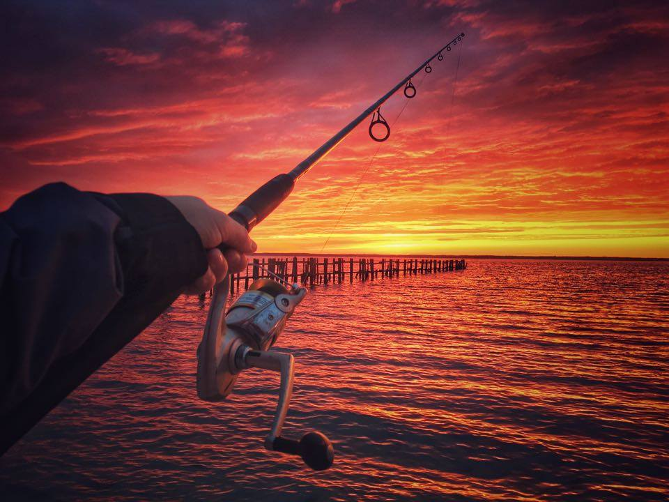 dewey beach, idewey, sunsets in delaware, rehoboth bay, delaware, sussex county, striped bass, rockfish, linesiders