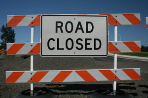 Route 404 closed starting Nov 16th to Dec 16th