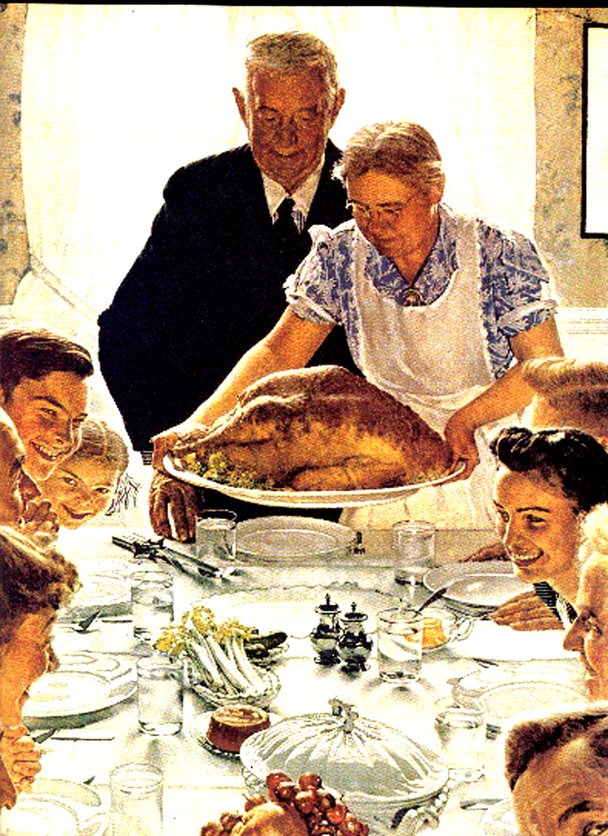 Norman Rockwell, Thanksgiving