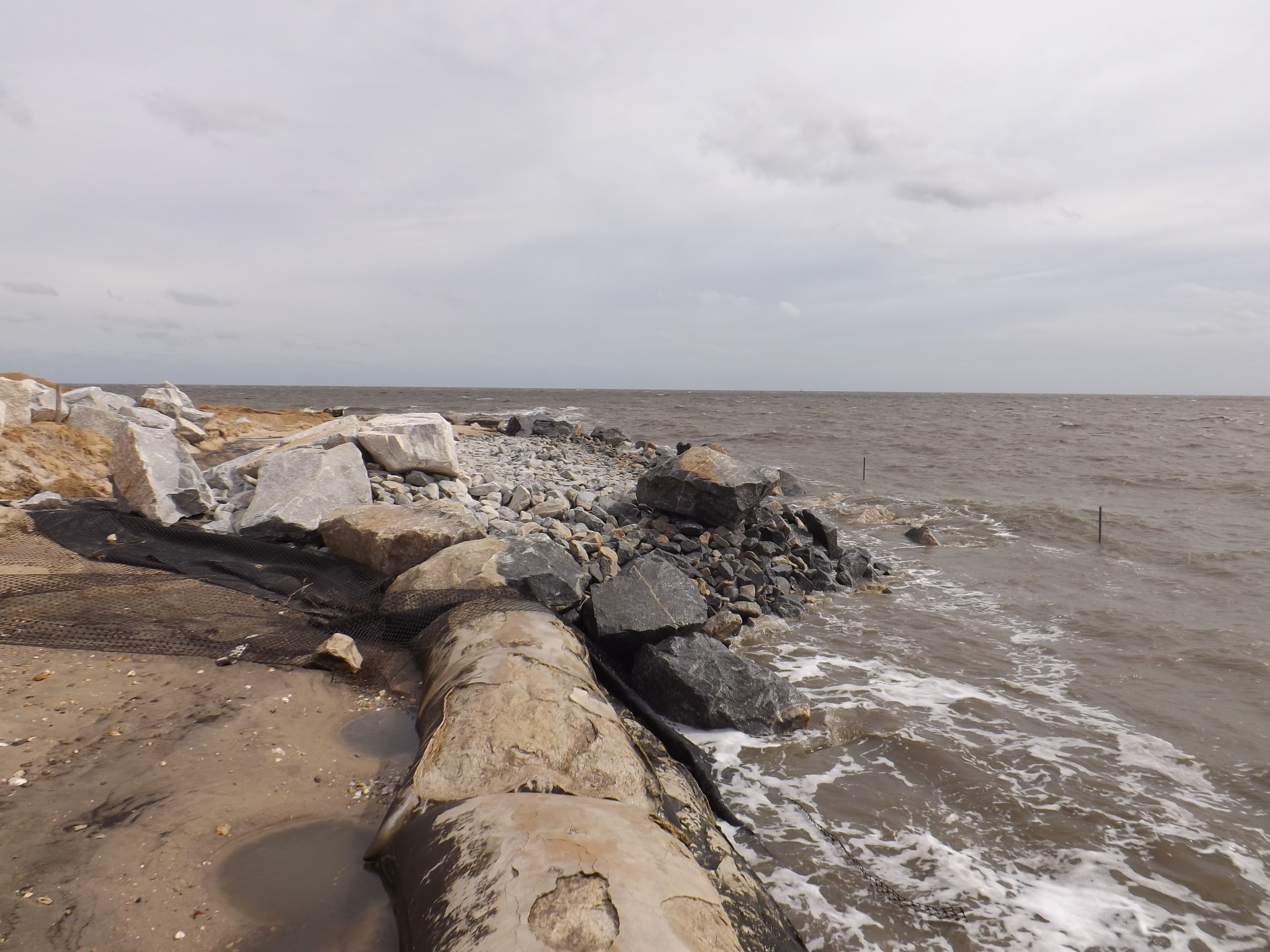 Bowers beach has a new jetty delaware surf for Delaware surf fishing