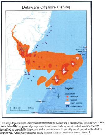 delaware's fishing grounds, atlantic ocean. mid atlantic fishery