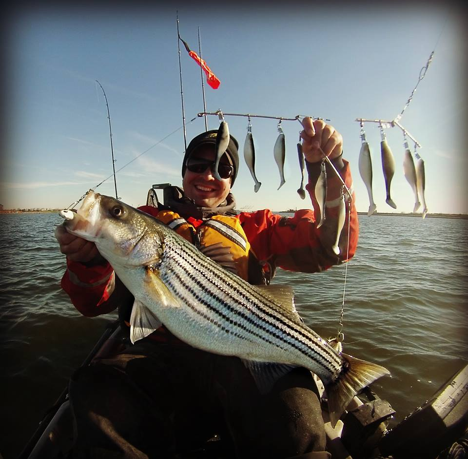 alan battista, light tackle kayak trolling the chesapeake bay,