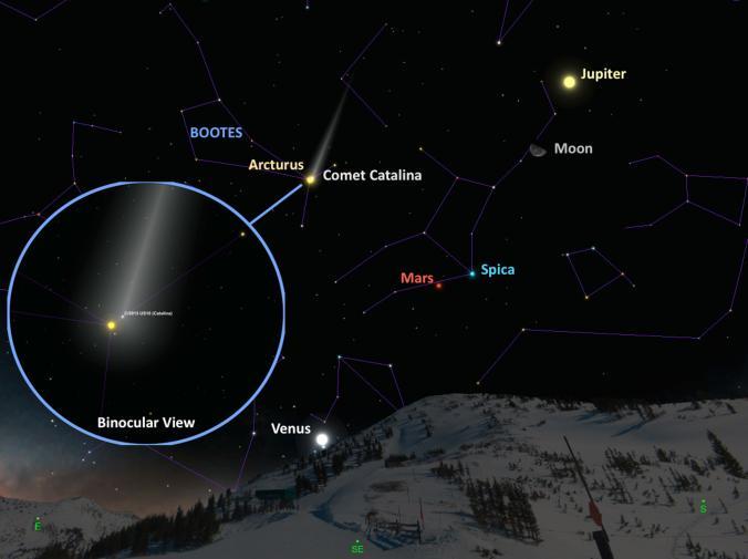 northern lights comet - photo #28