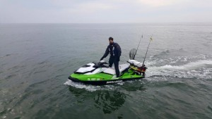 jet ski fishing, delaware bay, sussex county, lewes boat ramp, striped bass, rockfish, linesiders,