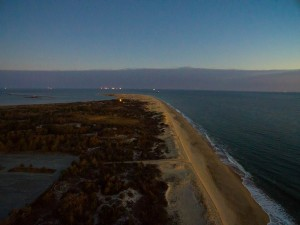 cape henlopen state park, point comfort station, delaware, sussex county, aerial pictures of delaware state parks