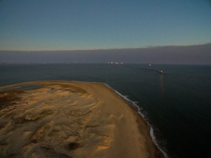 the point, cape henlopen state park, arial picture of delaware, sussexcounty
