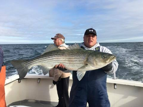 Stripers still hitting in jersey delaware surf for Surf fishing nj
