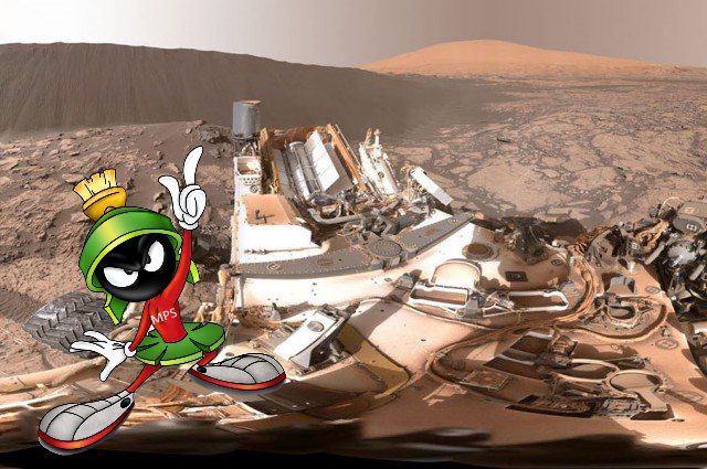 Nasa discovers dune on mars, curiosity rover, these are no the droids you are looking for
