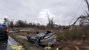 tornado damage virginia, waverly