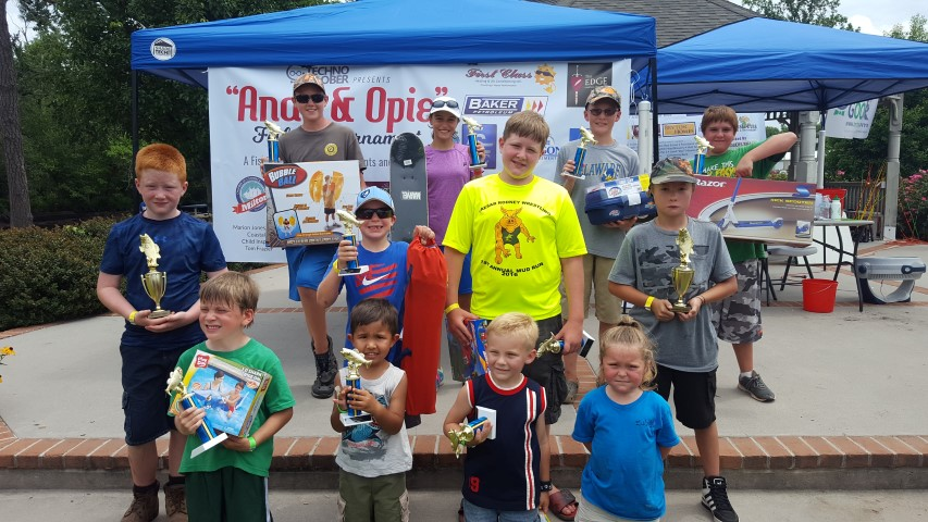 andie and opie fishing tournament winners, milton, delaware, sussex county,