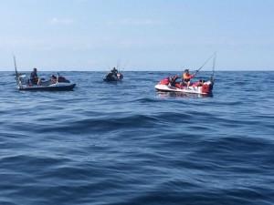 jet ski fishing for tuna, offshore fishing, sea doo fishing, delaware, sussex county