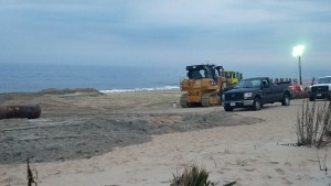 Rehoboth Beach Replenishment Project started today