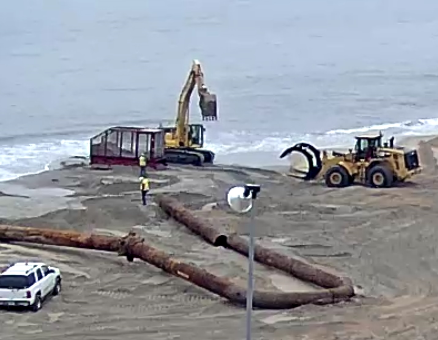 Fun fact friday about beach replenishment sand and mines for Rehoboth beach fishing
