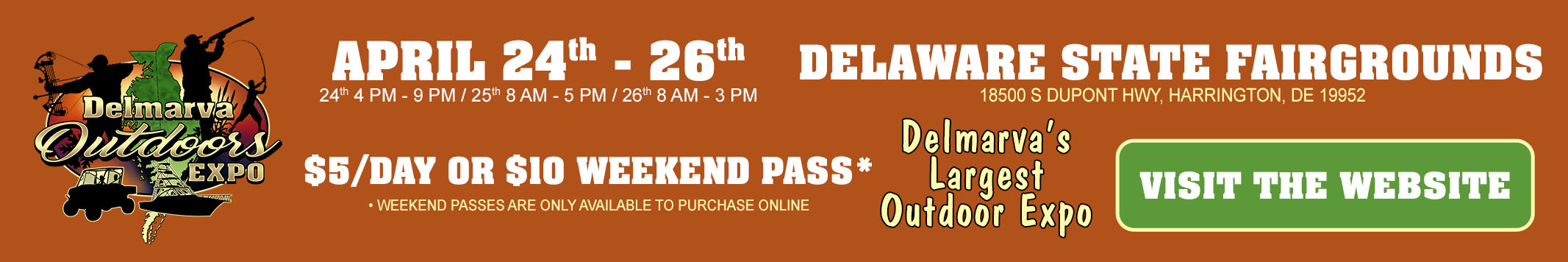Delmarva Outdoors Expo 2020