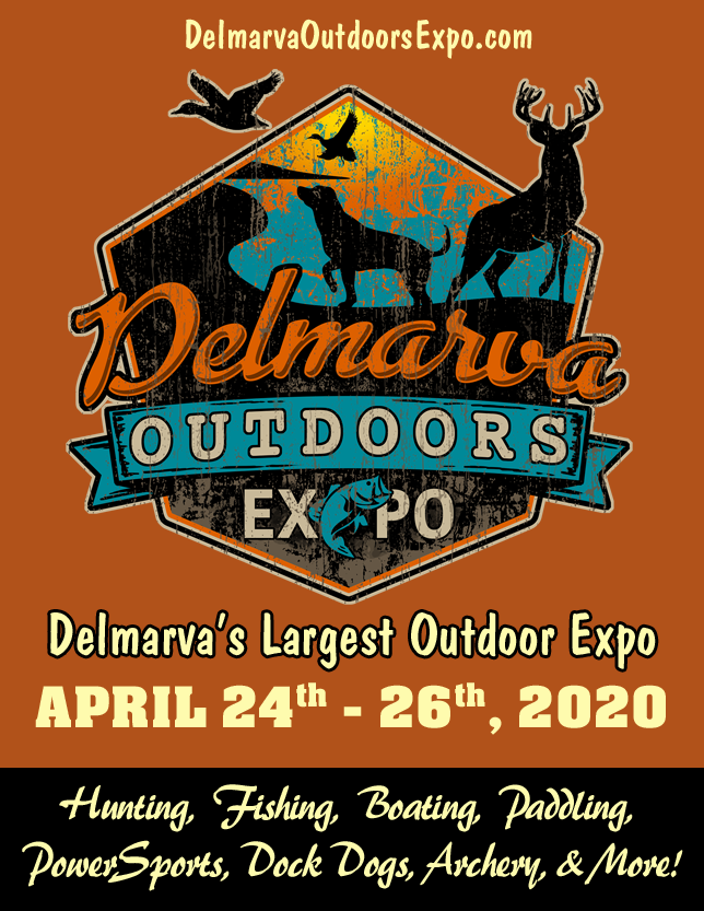 Delmarva Outdoors Expo 2020 side ad
